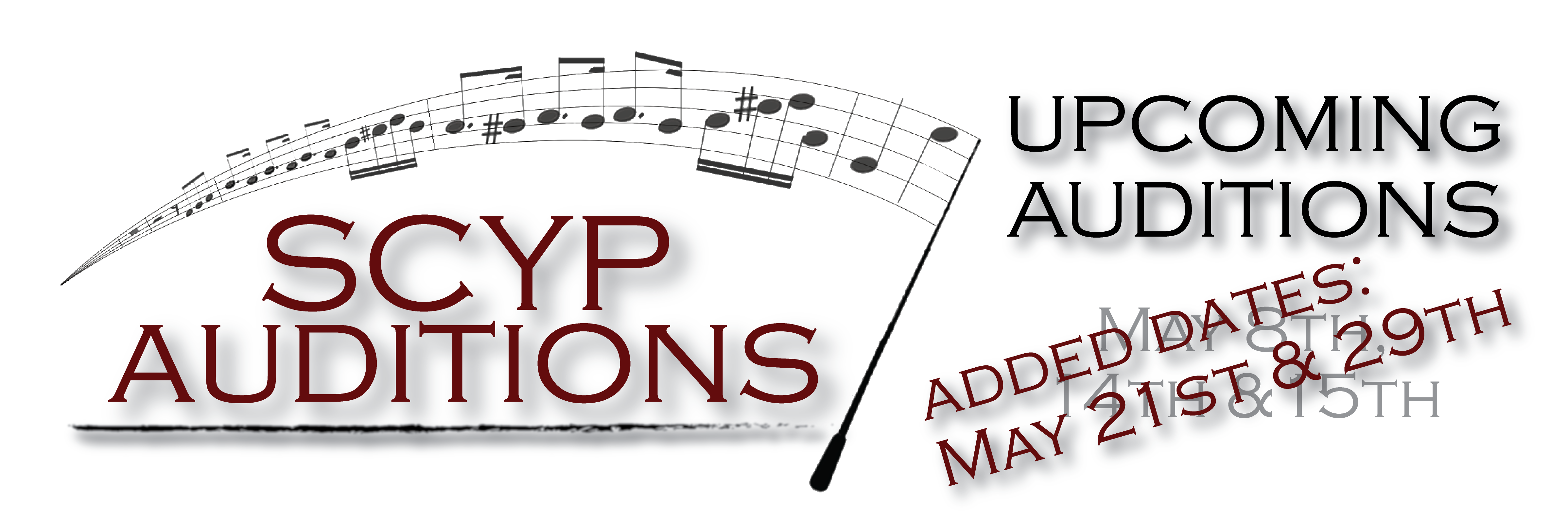 Summer Auditions 2016 added