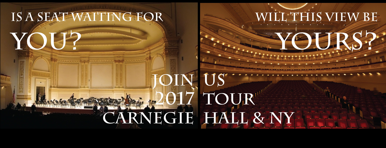 Carnegie Hall Promo