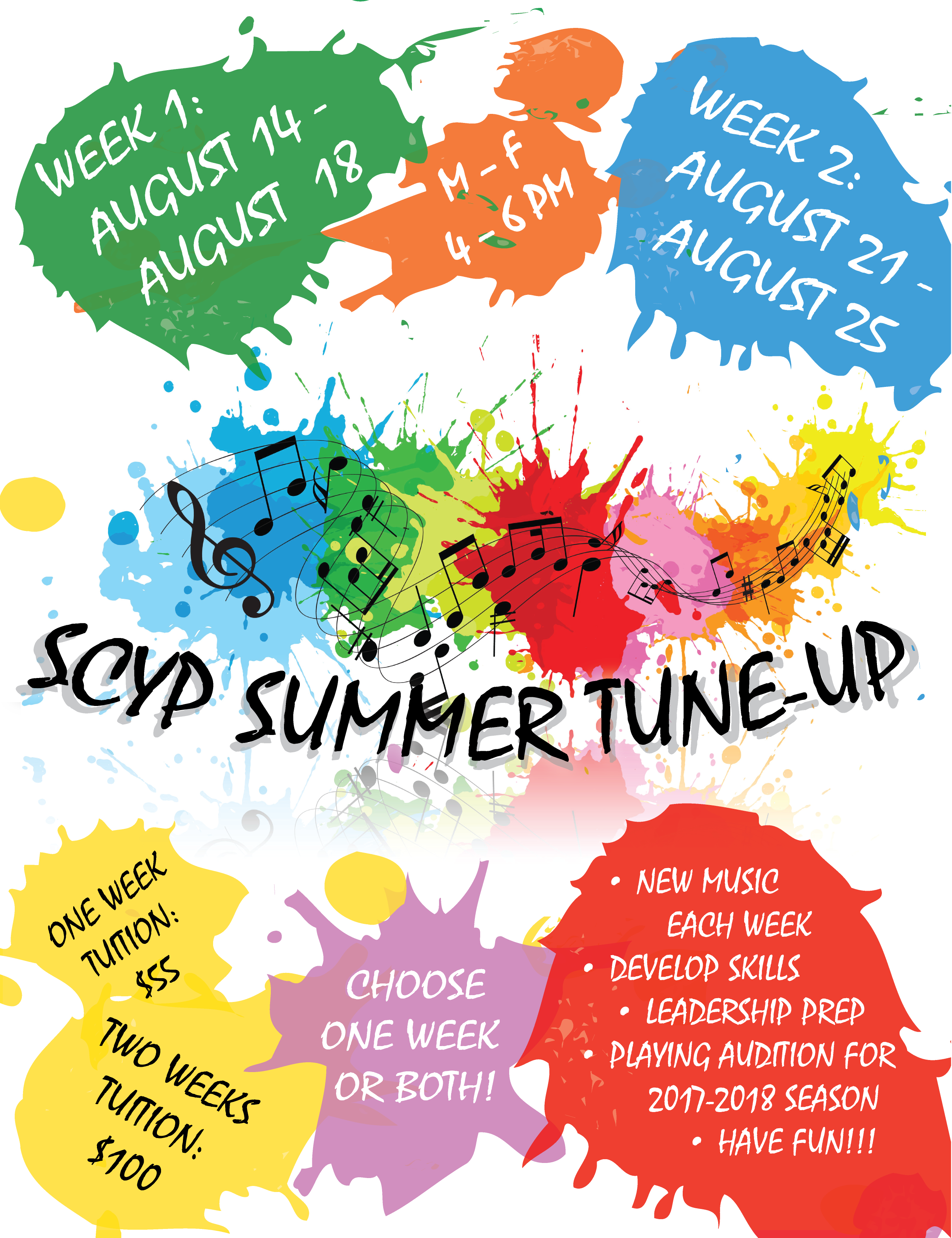 Summer Tune-Up Flyer