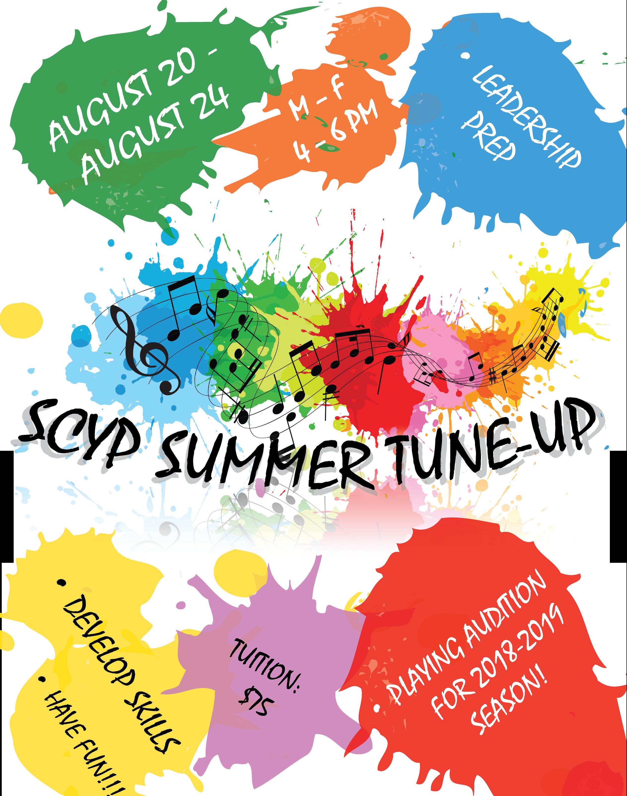 Summer Tune-Up Flyer 2018